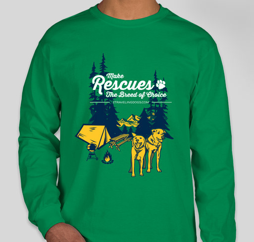 Make Rescues The Breed Of Choice Fundraiser - unisex shirt design - small
