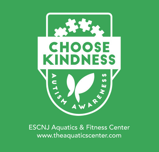 7th Annual Autism Awareness Swim & Play shirt design - zoomed