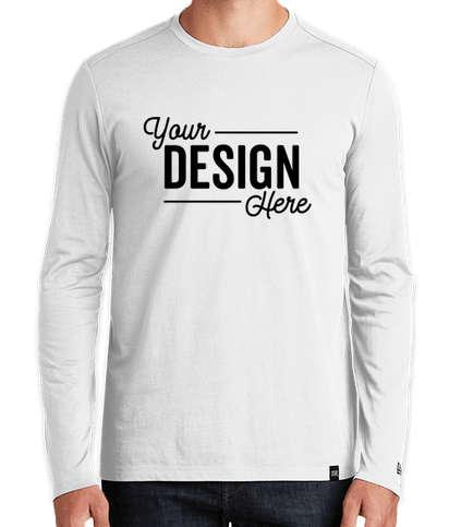 New Era Heritage Blend Long Sleeve T-shirt - White