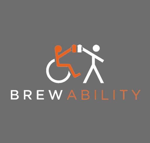 Brewability Pizzability shirt design - zoomed