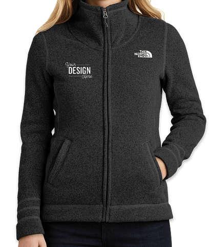 The North Face Women's Sweater Fleece Jacket - TNF Black Heather