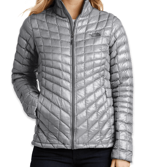 The North Face Women's ThermoBall Trekker Jacket - Mid Grey
