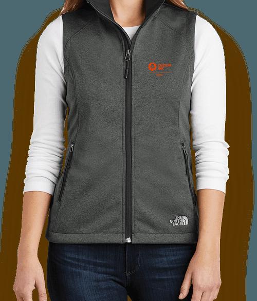 The North Face Women's Ridgeline Soft Shell Vest - TNF Dark Grey Heather