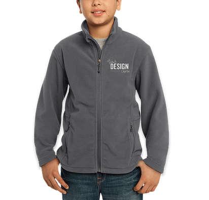 Port Authority Youth Value Fleece Jacket - Iron Grey