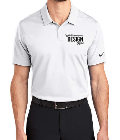 Nike Dry Essential Polo - White