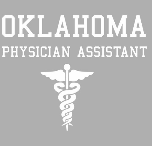 Oklahoma City University PA Program OAPA-CME Conference Fundraiser shirt design - zoomed