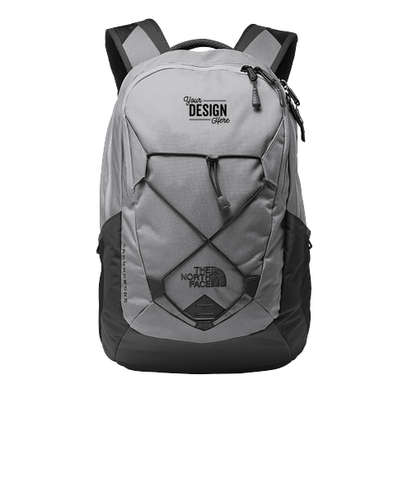 The North Face Groundwork Backpack - Mid Grey / Asphalt Grey