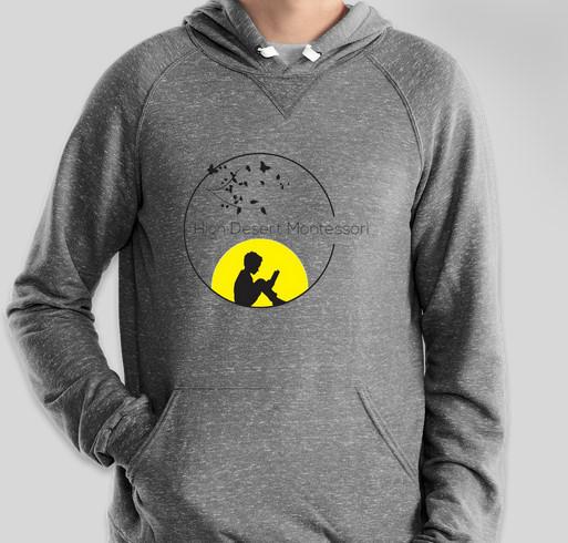 HDMS Swag Fundraiser - unisex shirt design - front