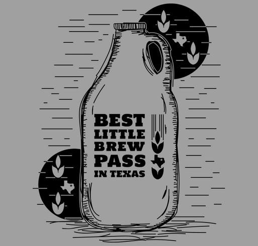 Best Little BrewPass in Texas shirt design - zoomed