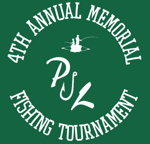 4th Annual Pauly J. Larson Memorial Fishing Tournament shirt design - zoomed
