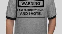 20-something voter