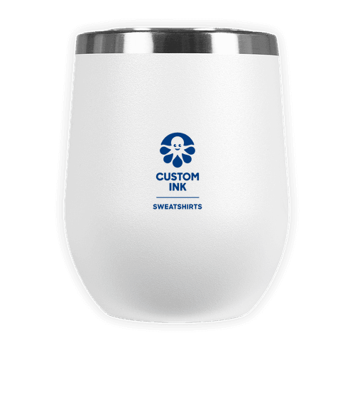 Laser Etched 12 oz. Insulated Tumbler Gift Set - White