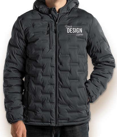 North End Loft Puffer Jacket - Carbon / Black