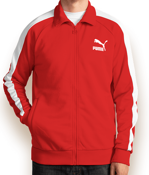 Canada - Puma Iconic T7 Track Jacket - High Risk Red