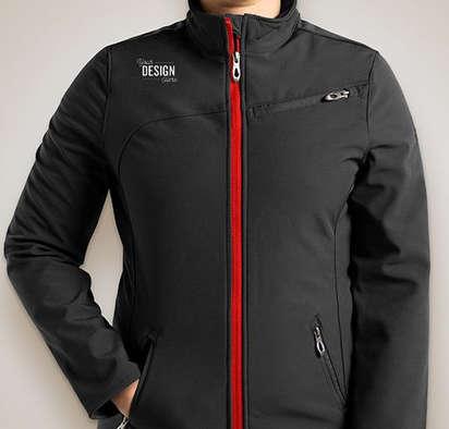 Canada - Spyder Women's Transport Soft Shell Jacket - Black / Red