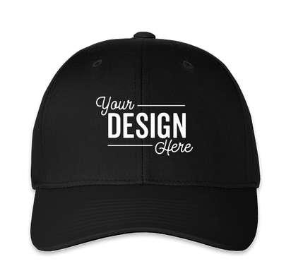 Pacific Headwear Cotton Blend Adjustable Hat - Black / Black