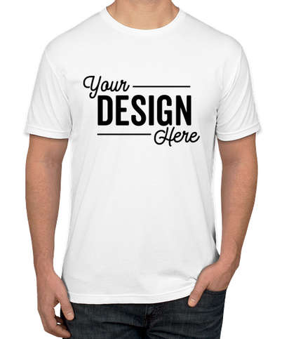 Canada - Next Level 60/40 T-shirt - White