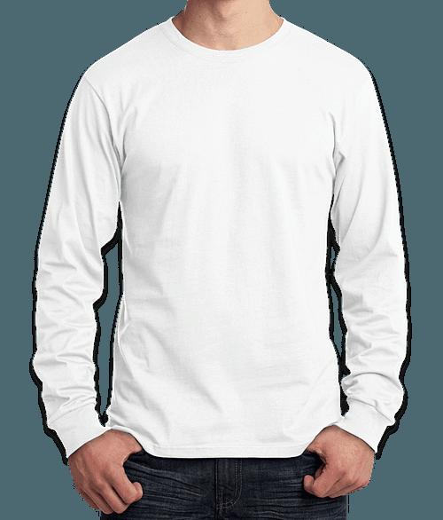 Canada - ATC Everyday Cotton Long Sleeve T-shirt - White