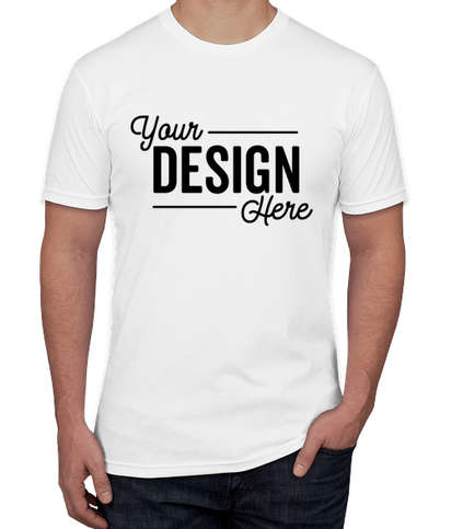 Next Level USA-Made Jersey T-shirt - White
