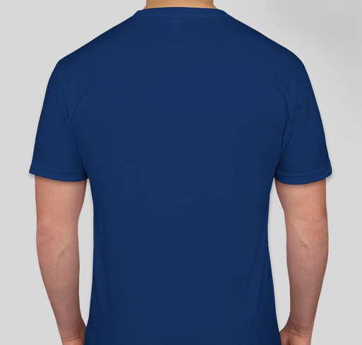 Help the staff from the DC Eagle Fundraiser - unisex shirt design - back