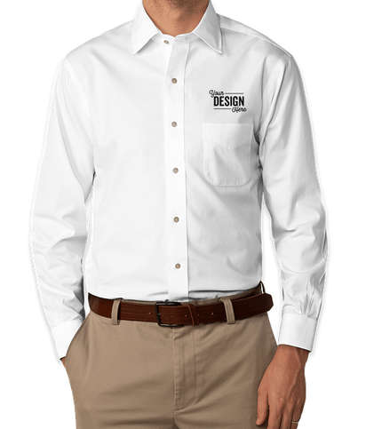 Brooks Brothers Non-Iron Pinpoint Ainsley Collar Dress Shirt - Solid White (Sld Wht)