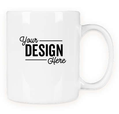 11 oz. Ceramic Mug - White