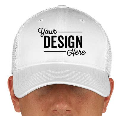 Canada - New Era 39THIRTY Stretch Fit Mesh Hat - White