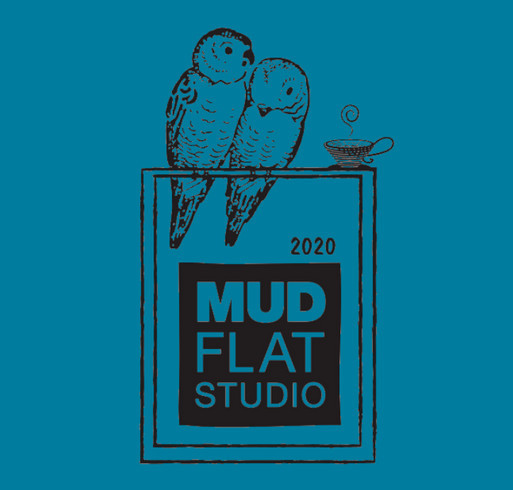 Mudflat 2020 T-shirt Fundraiser shirt design - zoomed