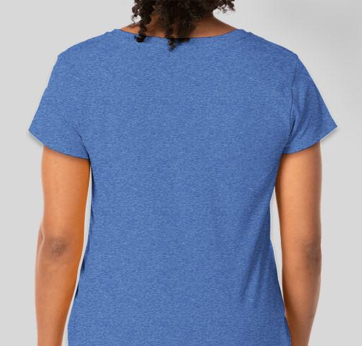 The World Needs YOUR Story. Fundraiser - unisex shirt design - back