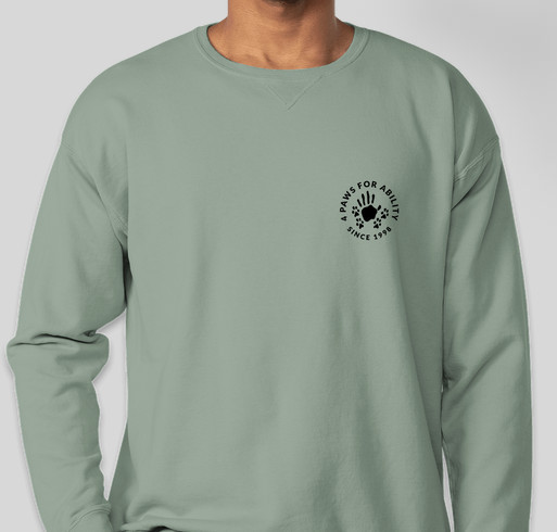 4 Paws Magic in Growing Through Life Fundraiser - unisex shirt design - front