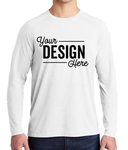 Custom Sport Tek Tri Blend Long Sleeve Performance Shirt Design Long Sleeve Performance Shirts Online At Customink Com You'll receive email and feed alerts when new items arrive. sport tek tri blend long sleeve performance shirt