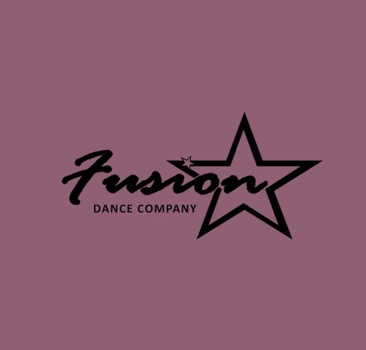 Support Your Studio... Fusion Dance Company shirt design - zoomed