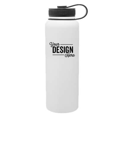 40 oz. h2go Venture Copper Vacuum Insulated Water Bottle - White