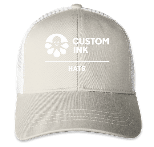 Econscious Organic/Recycled Trucker Hat - Dolphin / White