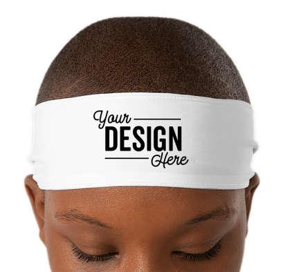 Tie Back Headband - White