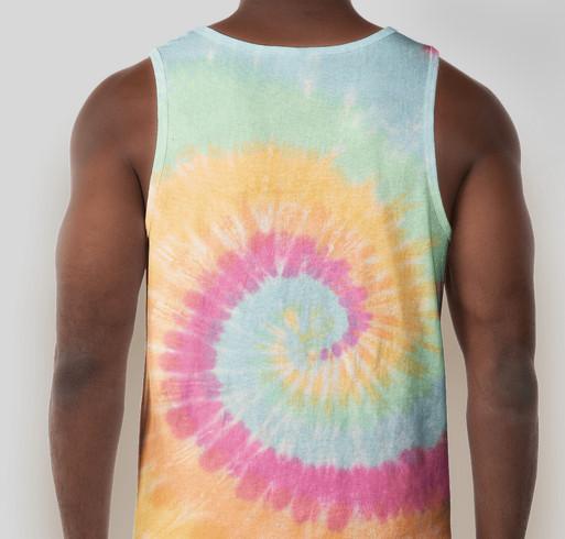 Livefor24 Virtual 5K Race Shirts Fundraiser - unisex shirt design - back