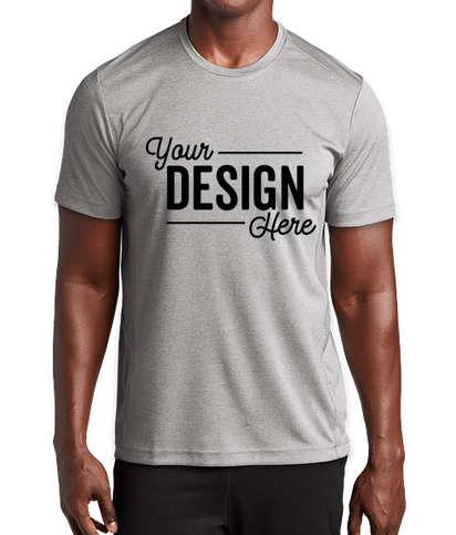 Sport-Tek Endeavor Performance Shirt - Light Grey Heather / Light Grey