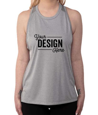 Sport-Tek Women's Endeavor Performance Tank - Light Grey Heather / Light Grey