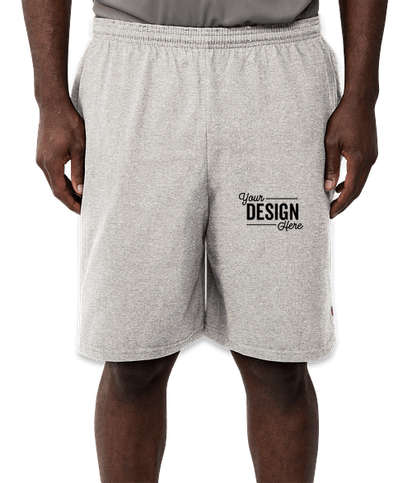 Champion Cotton Jersey Shorts - Oxford Grey