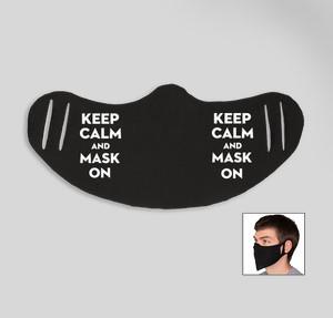 keep calm and mask on
