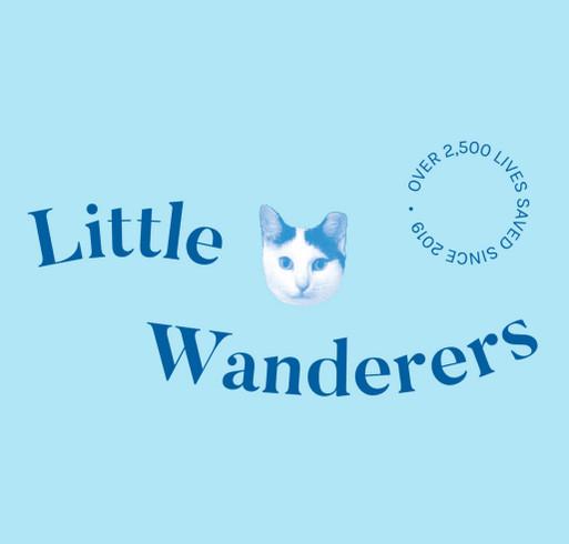 Little Wanderers Tie Dye T-Shirt Fundraiser shirt design - zoomed