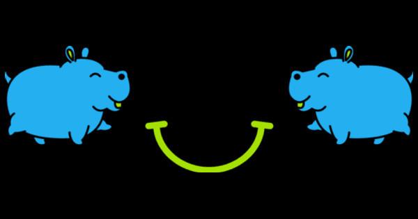 name tag hippo