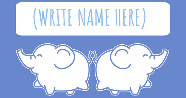 name here, elephant