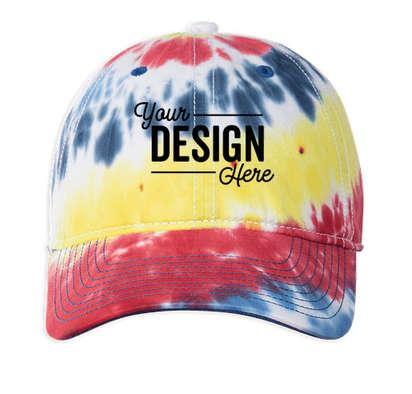 The Game Tie-Dye Twill Hat - Rainbow