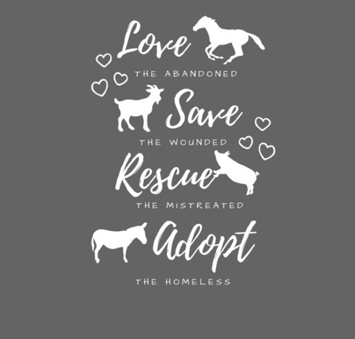 Love, Save, Rescue, Adopt Jacket shirt design - zoomed