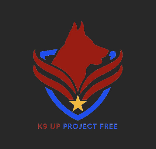 Giving Tuesday K9 Up shirt design - zoomed