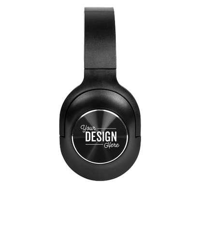Laser Engraved BluTunes Wireless Headphones - Black