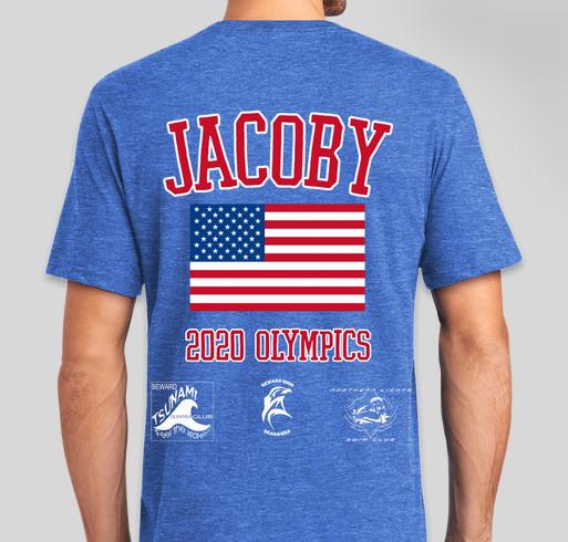 Alaskan Olympian Fundraiser - unisex shirt design - back