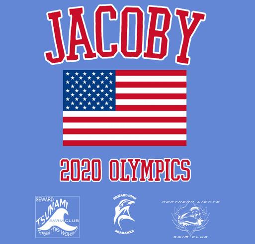 Alaskan Olympian shirt design - zoomed