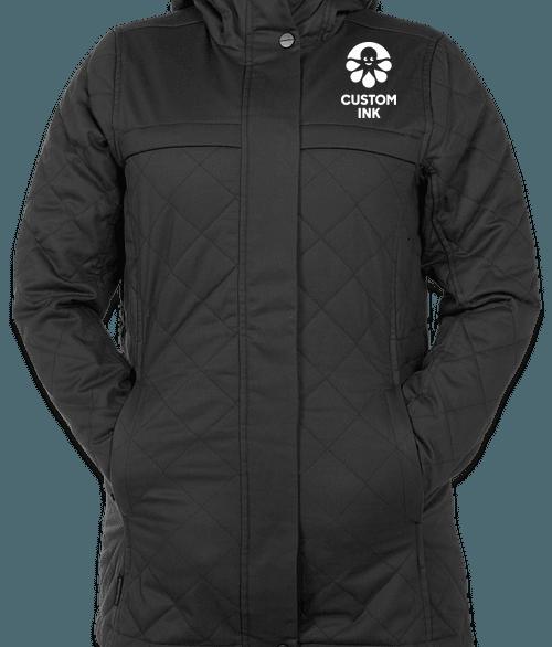 Stormtech Women's Bushwick Quilted Jacket - Graphite